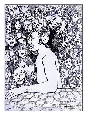 Daydreams Art Drawing - On My Mind 47 by Jim Rehlin