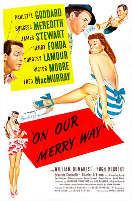 Harry James Photograph - On Our Merry Way, Us Poster, Dorothy by Everett