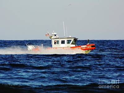 Photograph - On Patrol Us Coast Guard by D Hackett