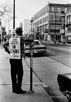 Photograph - On Strike by Tom Brickhouse