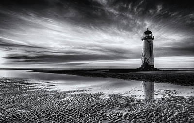 On Talacre Beach Art Print
