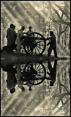 Art Print featuring the photograph On The Banks by Geraldine DeBoer