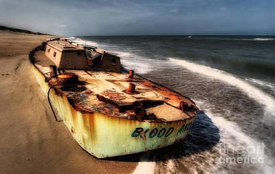 On The Beach II - Outer Banks Art Print by Dan Carmichael