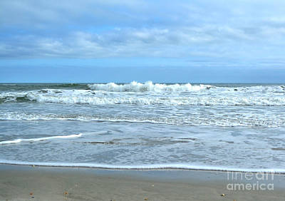 Photograph - On The Beach by Kathy Baccari