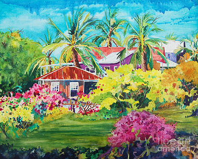On The Big Island Art Print