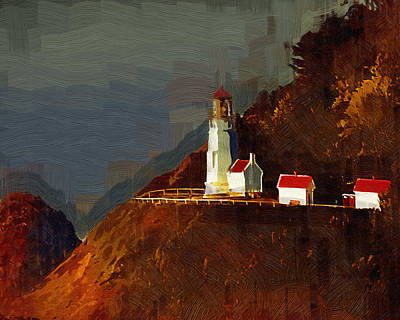 On The Bluff Art Print by Kirt Tisdale
