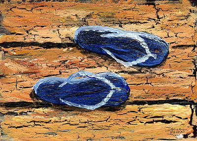 Painting - On The Boardwalk by Darice Machel McGuire