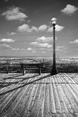 Photograph - On The Boardwalk  by Debra Fedchin