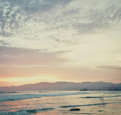 Beach Sunset Digital Art - On The Coast by Susan Bryant