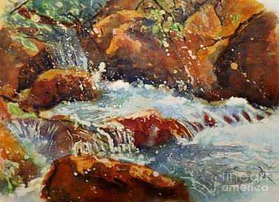 Painting - On The Colorado Trail by Carol Losinski Naylor