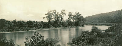 Platinum Drawing - On The Conemaugh Near New Florence, Pennsylvania William H by Litz Collection
