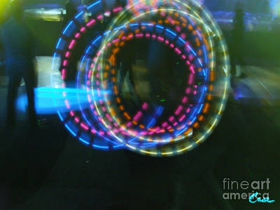 Photograph - On The Dance Floor 10 Loops by Feile Case