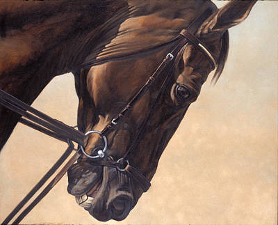 Saddle Painting - On The Diagonal by JQ Licensing
