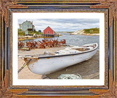 Canoe Digital Art - On The Dock by Betsy Knapp