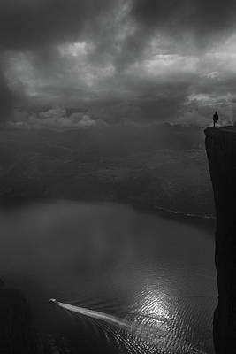 On The Edge Art Print