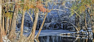 On The Edge Of Winter Art Print by JC Findley