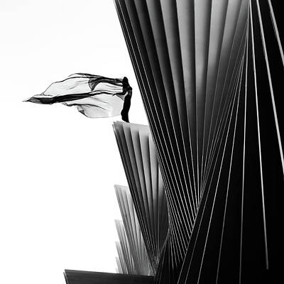 Shape Photograph - On The Edge by Patrick Odorizzi