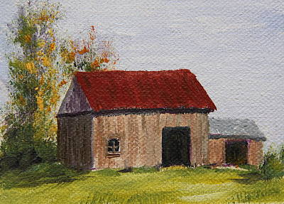 Painting - On The Farm by Alan Mager
