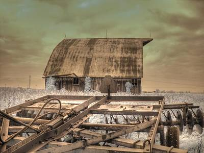 Infared Photograph - On The Farm by Jane Linders