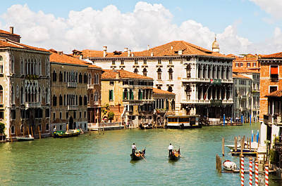 Photograph - On The Grand Canal #2 by Mick Burkey