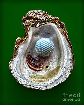 Hole In One Art Print by Walt Foegelle
