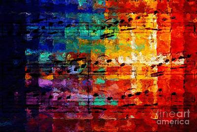 Digital Art - On The Grid 3 by Lon Chaffin