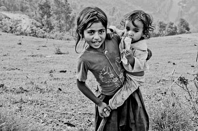 Photograph - On The Hill In Tansen by Valerie Rosen