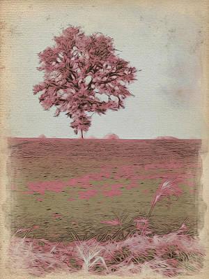 On The Horizon Art Print by Bonnie Bruno