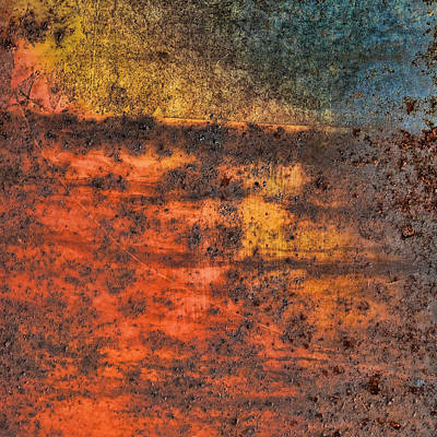 Metal Art Abstraction Photograph - On The Horizon...two by Tom Druin