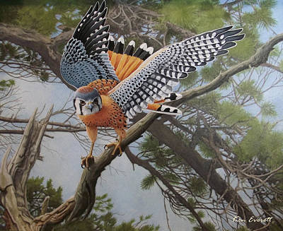 On The Hunt Art Print by Ken Everett