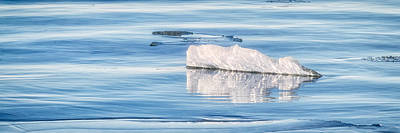On The Icy Sea Art Print by Jeff Sinon