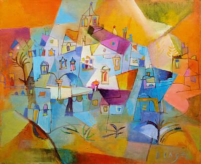 Painting - On The Island by Miljenko Bengez