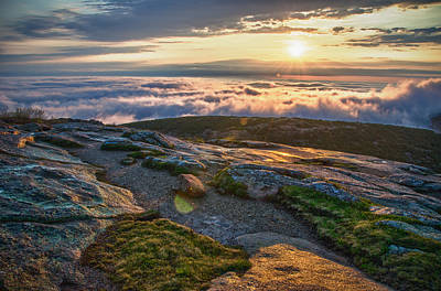 Maine Spring Photograph - On The Mountain by Kristopher Schoenleber
