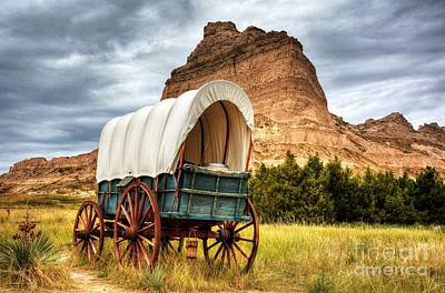 Photograph - On The Oregon Trail by Mel Steinhauer
