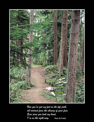 Photograph - On The Path by Kirt Tisdale