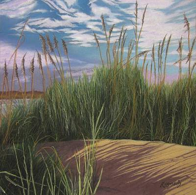 Painting - On The Path To Chatham Harbor Cape Cod by Harvey Rogosin