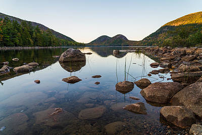 Jordan Pond Photograph - On The Pond by Kristopher Schoenleber