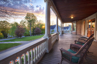 Sun Porch Photograph - On The Porch by Eric Gendron