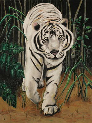 Fineness Painting - On The Prowl by Jeanne Fischer