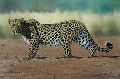 Painting - On The Prowl by Robert Teeling