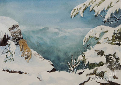 Painting - On The Prowl Sold by Sandy Brindle