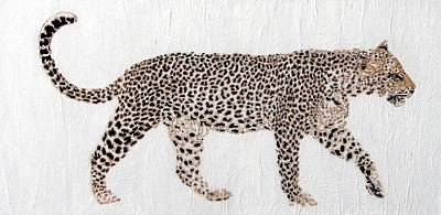 Art Print featuring the painting On The Prowl by Stephanie Grant