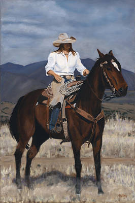 Painting - On The Range by Jack Atkins
