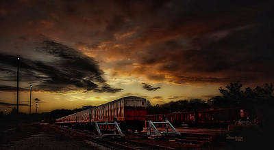 Photograph - On The Right Track - Featured In The Group Spectacular Artworks by Ericamaxine Price