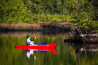 Florida Photograph - On The River by Nicholas Evans