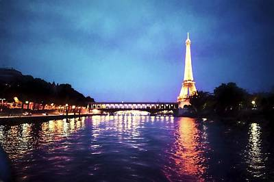 Photograph - On The River Seine by Bill Howard