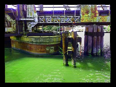 Digital Art - On The River by Zac AlleyWalker Lowing