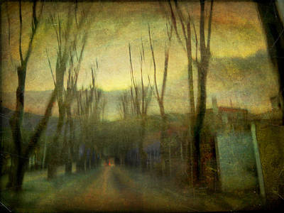 On The Road #13 Art Print by Alfredo Gonzalez