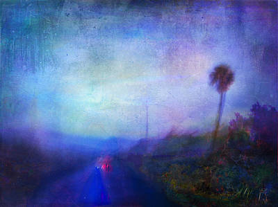 On The Road #18 - Lights In Time Art Print by Alfredo Gonzalez