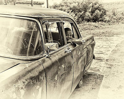 On The Road Art Print by Phil Callan Photography